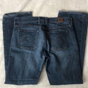 Lucky Brand Jeans Sweet N' Low Denim 6 28 USA EUC